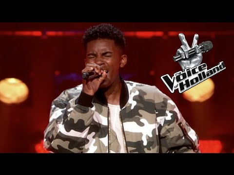 Gideon Luciana - Hero (The Blind Auditions | The voice of Holland 2015)