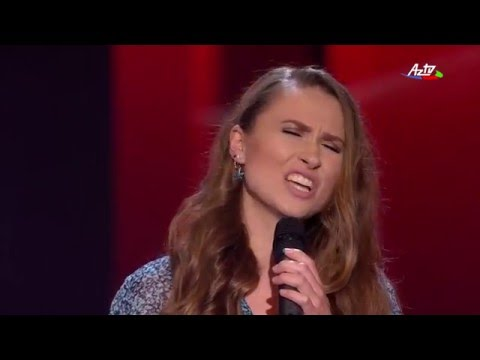 Elena Naumova - La La La | Blind Audition | The Voice of Azerbaijan 2015
