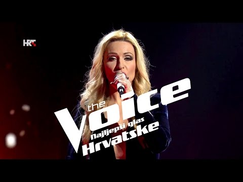 "Ivana Sutlović: ""Love Me Like You Do"" - The Voice of Croatia - Season2 - Live1"