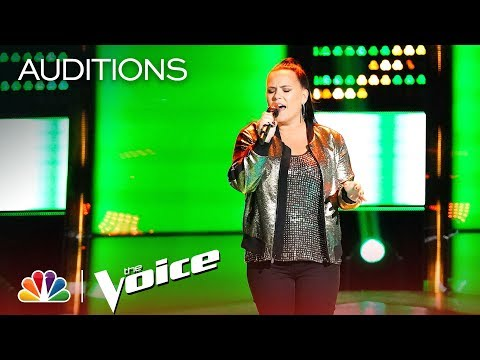 "Natasia GreyCloud Stuns with Sam Smith's ""I'm Not the Only One"" - The Voice 2018 Blind Auditions"