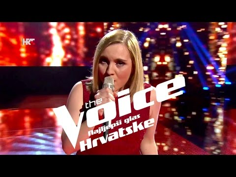 "Petra Vurušić: ""Drugo ime ljubavi"" - The Voice of Croatia - Season2 - Live1"