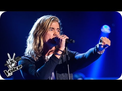 Rick Snowdon performs 'I Put a Spell on You' - The Voice UK 2016: Blind Auditions 6