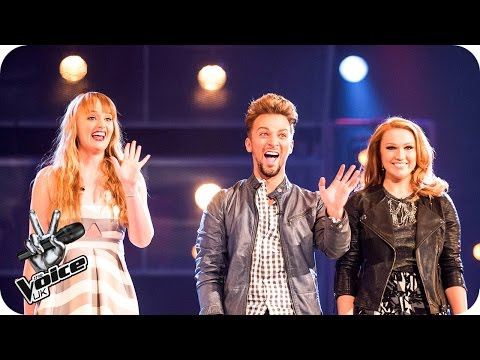 Charley Blue Vs Scott & Vicki: Battle Performance - The Voice UK 2016 - BBC One