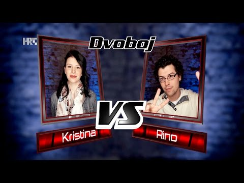 "Kristina vs. Rino: ""Baila Morena"" - The Voice of Croatia - Season2 - Battle1"
