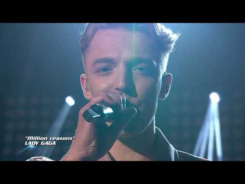 Knut Kippersund Nesdal - Million Reasons (The Voice Norge 2017)