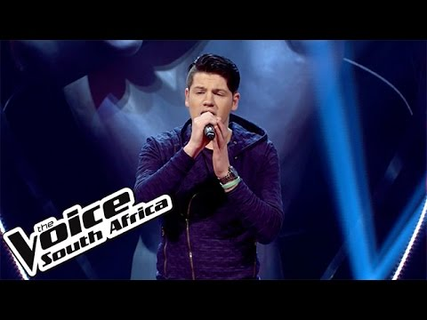 Johan Anker sings 'Hallelujah' | The Blind Auditions | The Voice South Africa 2016