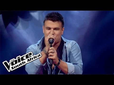 Marcel sings 'Push Me to the Floor' | The Blind Auditions | The Voice South Africa 2016