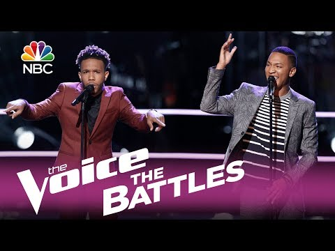 "The Voice 2017 Battle - Eric Lyn vs. Ignatious Carmouche: ""Unaware"""