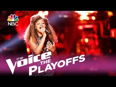 "The Voice 2017 Shi'Ann Jones - The Playoffs: ""Tattooed Heart"""