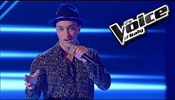 Valentino Bianconi - Come fly with me | The Voice of Italy 2016: Blind Audition