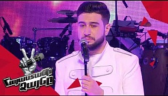 Alexander Sargsyan sings 'Պատրանքի թևերով' – Knockout – The Voice of Armenia – Season 4