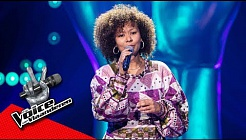 Hadassa zingt 'Where Do Broken Hearts Go ' | Blind Audition | The Voice van Vlaanderen | VTM