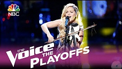 The Voice 2017 Natalie Stovall - The Playoffs: