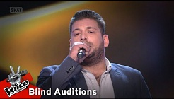 The Voice of Greece | Γιάννης Κεσίδης | 4o Blind Audition