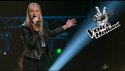 Eva van der Donk - Edge Of Glory (The Blind Auditions | The voice of Holland 2015)