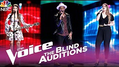 The Voice 2017 Blind Audition Montage - Alexandra Joyce, Eric Lyn, Anna Catherine DeHart