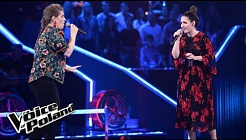 "Asia Banaszkiewicz vs Patrycja Ciborowska - ""Send My Love""  - The Voice of Poland 8"