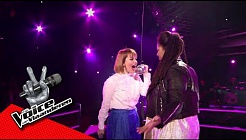 Joséphine en Anouchka zingen 'Caught Out There' | The Battles | The Voice van Vlaanderen | VTM