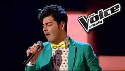 Giuseppe Pagliuso - Candle In The Wind | The Voice of Italy 2016: Blind Audition