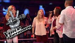 Ich laufe - Tim Bendzko | Sarah, Maria & Teresa vs.Tay Cover | The Voice of Germany 2016 | Battles