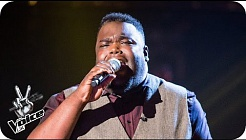 Aaron Hill performs 'Never Too Much'  - The Voice UK 2016: Blind Auditions 7