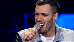 "Ivo Marinković: ""Crazy"" - The Voice of Croatia - Season2 - Blind Auditions1"