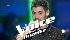 "Vedran Ljubenko: ""Superstition"" - The Voice of Croatia - Season2 - Knockout 1"