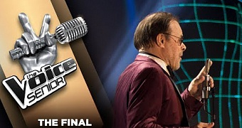 Bob Bullee – For Once In My Life | The Voice Senior 2018 | The Final