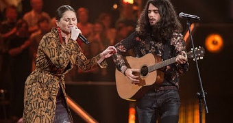 "Gosia Pauka i Konrad Słoka - ""Piece of My Heart"" -  Bitwy - The Voice of Poland 9"