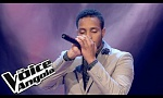 "Ricardo Pina - ""All of me"" / The Voice Angola 2015: Audição Cega"
