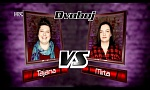 "Tajana vs. Mirta: ""Flashlight"" - The Voice of Croatia - Season2 - Battle2"