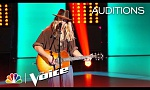 Tyke James' Voice Is PERFECT on This Ed Sheeran Hit - The Voice 2018 Blind Auditions