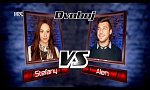 "Stefany vs. Alen: ""Lay Me Down"" - The Voice of Croatia - Season2 - Battle1"