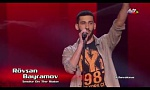 Rovshan Bayramov - Smoke on the Water | Blind Audition | The Voice of Azerbaijan 2015