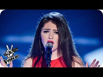 Áine Carroll performs 'Brokenhearted' - The Voice UK 2016: Blind Auditions 1
