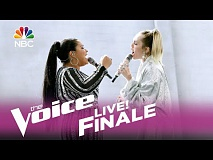 The Voice 2017 Brooke Simpson and Miley Cyrus - Finale: