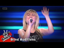 Μάνια Ρουμάντζα - Closer | 9o Blind Audition | The Voice of Greece