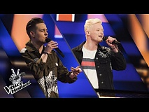 Ronald vs. Toon – As Long As You Love Me Mashup | The voice of Holland | The Battle | Seizoen 8