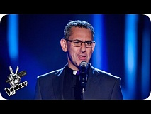 Rev John Barron performs 'This Is The Moment' - The Voice UK 2016: Blind Auditions 1