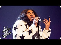 Faith Nelson performs 'Runnin': Knockout Performance - The Voice UK 2016