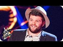 Tobias Robertson performs 'You've Got A Friend' - The Voice UK 2016: Blind Auditions 5
