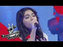 Yeva Abrahamyan sings 'What is love' - Knockout – The Voice of Armenia – Season 4