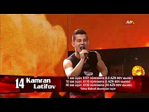 Kamran Latifov - It's My Life | 1/4 final | The Voice of Azerbaijan 2015