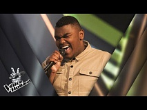 Roemillo Baumgard – Uptown Funk | The voice of Holland | The Blind Auditions | Seizoen 8