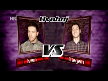 "Ivan vs. Marjan: ""Down In The Past"" - The Voice of Croatia - Season2 - Battle2"