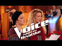 Rea i Stela uoči dvoboja - The Voice of Croatia - Season2 - Battle2