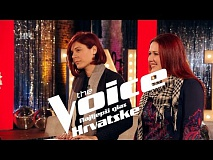 Ruža i Katarina uoči dvoboja - The Voice of Croatia - Season2 - Battle2