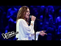 "Weronika Szymańska - ""Na sen""  - The Voice of Poland 8"