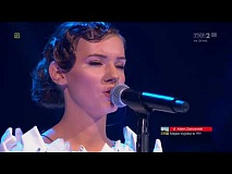 "Magdalena Dąbkowska - ""Sztorm"" - Live 1 - The Voice of Poland 8"