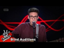 Aldion Zeqo - Στόχος | 11o Blind Audition | The Voice of Greece